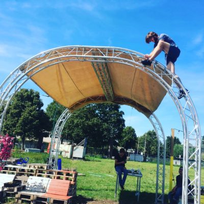 Milos Arc Truss Stage Festival