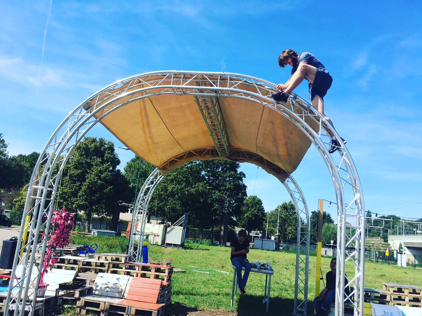 Milos Arc Truss Stage Festival