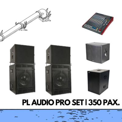 rofessioneel geluidssysteem pl audio pro