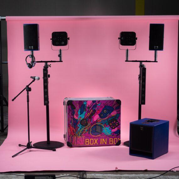 box in box licht geluid voor evenementen