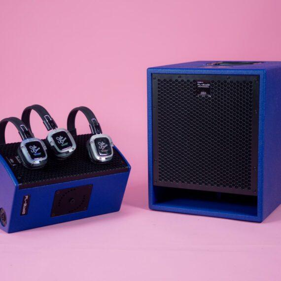 silent disco geluidsysteem huren evenementen