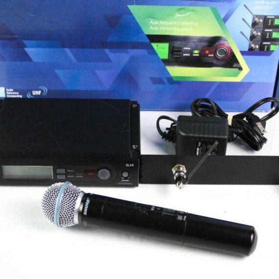 shure draadloze microfoon set